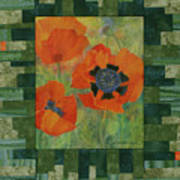 Mom's Poppies Poster