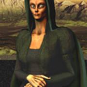 Mona Lisa Aien Poster