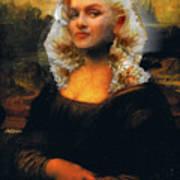 Mona Marilyn Poster