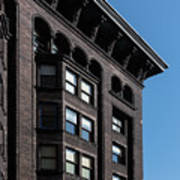 Monadnock Building Cornice Chicago Poster