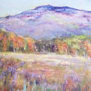 Monadnock In Spring Color Poster
