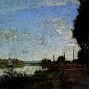 Monet Argenteuil  Poster
