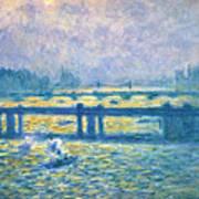 Monet: Charing Cross Poster