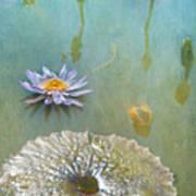 Monet Inspired Poster
