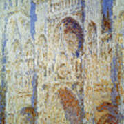 Monet: Rouen Cathedral Poster