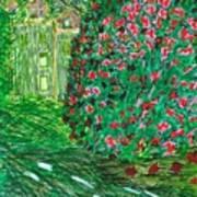 Monet's Parc Monceau Poster
