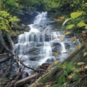 Money Brook Falls Mount Greylock Poster