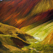Mongolian Landscape Poster
