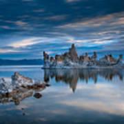 Mono Lake Tufas Poster
