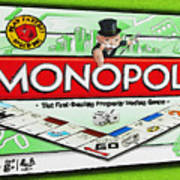 Monopoly Board Game Painting Poster
