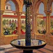 Monreale Palermo 1925 Travel Poster