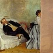 Monsieur And Madame Edouard Manet Poster