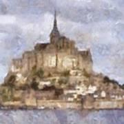 Mont Saint-michel, Normandy, France Poster