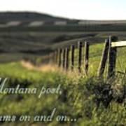Montana Dream Poster