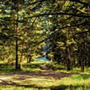 Montana Scenery Poster