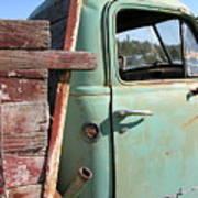 Montana Truck Poster