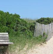 Montauk Beach Poster