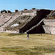Monte Alban Panorama Poster