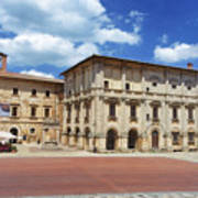 Montepulciano Piazza Grande Poster