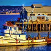 Monterey Bay Fishing Boat Poster