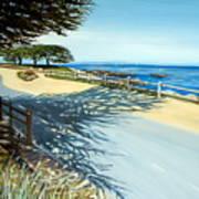Monterey Shadows Poster