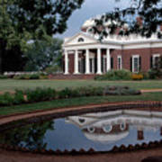 Monticello Reflections Poster