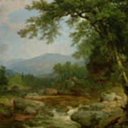 Monument Mountain - Berkshires Poster by Asher Brown Durand