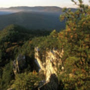 Monument Mountain Devils Pulpit Overlook Poster
