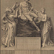 Monument To William Shakespeare Poster