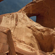 Monument Valley Arch 7369 Poster