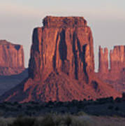 Monument Valley Sunrise 7288 Poster