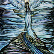 Moon Angel Poster