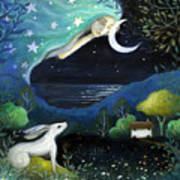 Moon Dream Poster