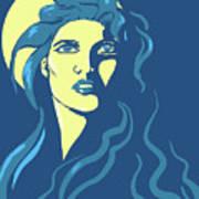 Moon Girl Poster