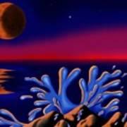 Moon-glow II Poster