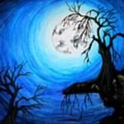 Moon Lit Poster