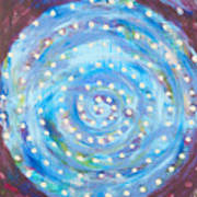 Moon Spiral Poster