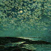 Moonlight Poster by Childe Hassam