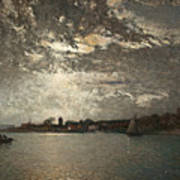 Moonlight Mood, The Stockholm Inlet  Poster