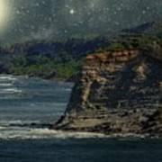 Moonlit Cove Poster