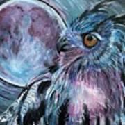 Moonlit Wisdom  Poster