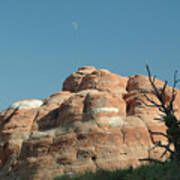 Moonrise At Arches No. 1 Poster
