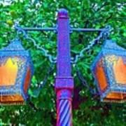 Moorish Lantern Poster