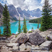 Moraine Lake Afternoon II Poster