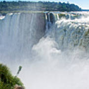 More Waterfalls At Devil's Throat In Iguazu Falls National Park-  Poster