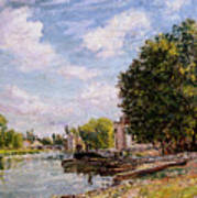 Moret-sur-loing Poster by Alfred Sisley