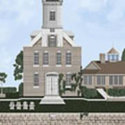 Morgan Point Mystic Harbor Conn Poster