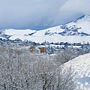 Mormon Tabernacle In Snow II Poster