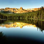 Morning At Lake Mamie Poster
