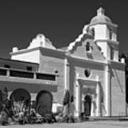Morning At San Luis Rey Mission Poster